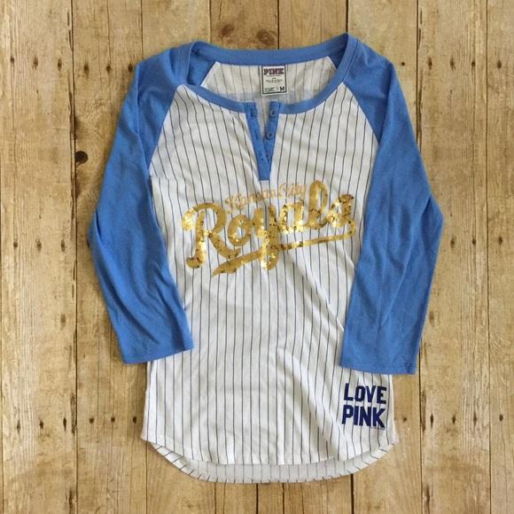 574d7138e VS PINK Kansas City Royals sequin baseball tee. M 5a3885e546aa7c09da00d743.  Other Tops you may like. Victoria Secret Pink Shirt